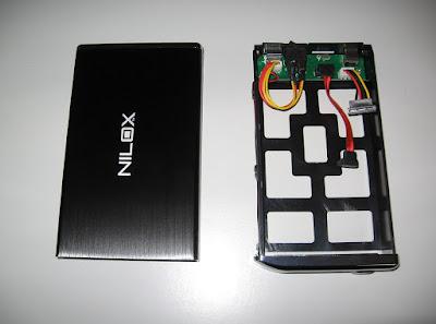Nilox Hdisk S3 - box per hard disk esterni