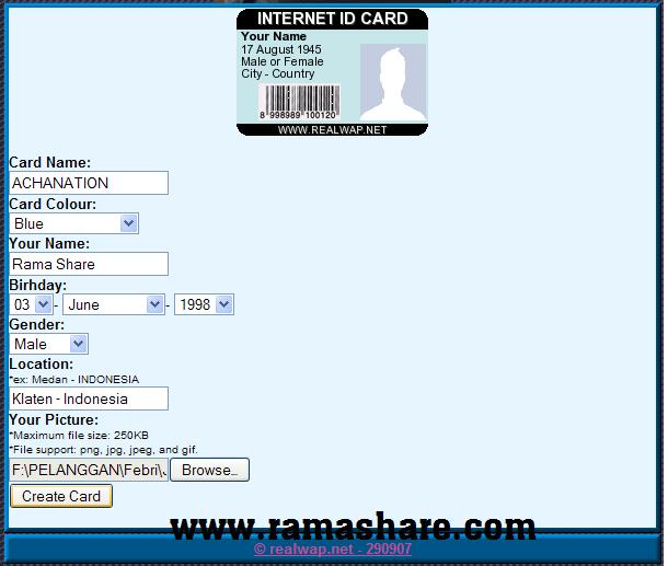 form id card jkt48 1 form id card jkt48 1