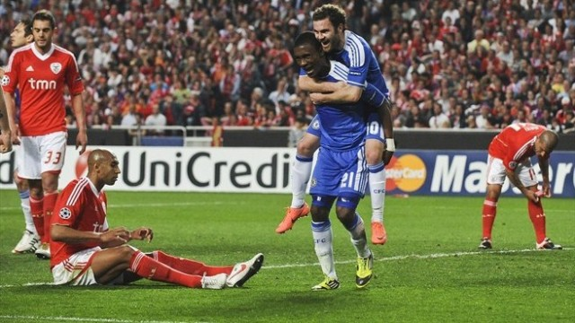 Video Benfica vs Chelsea 0-1 Liga Champion 28 Maret 2012