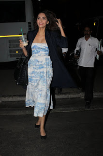 Sonam Kapoor snapped leaving for New years Holiday