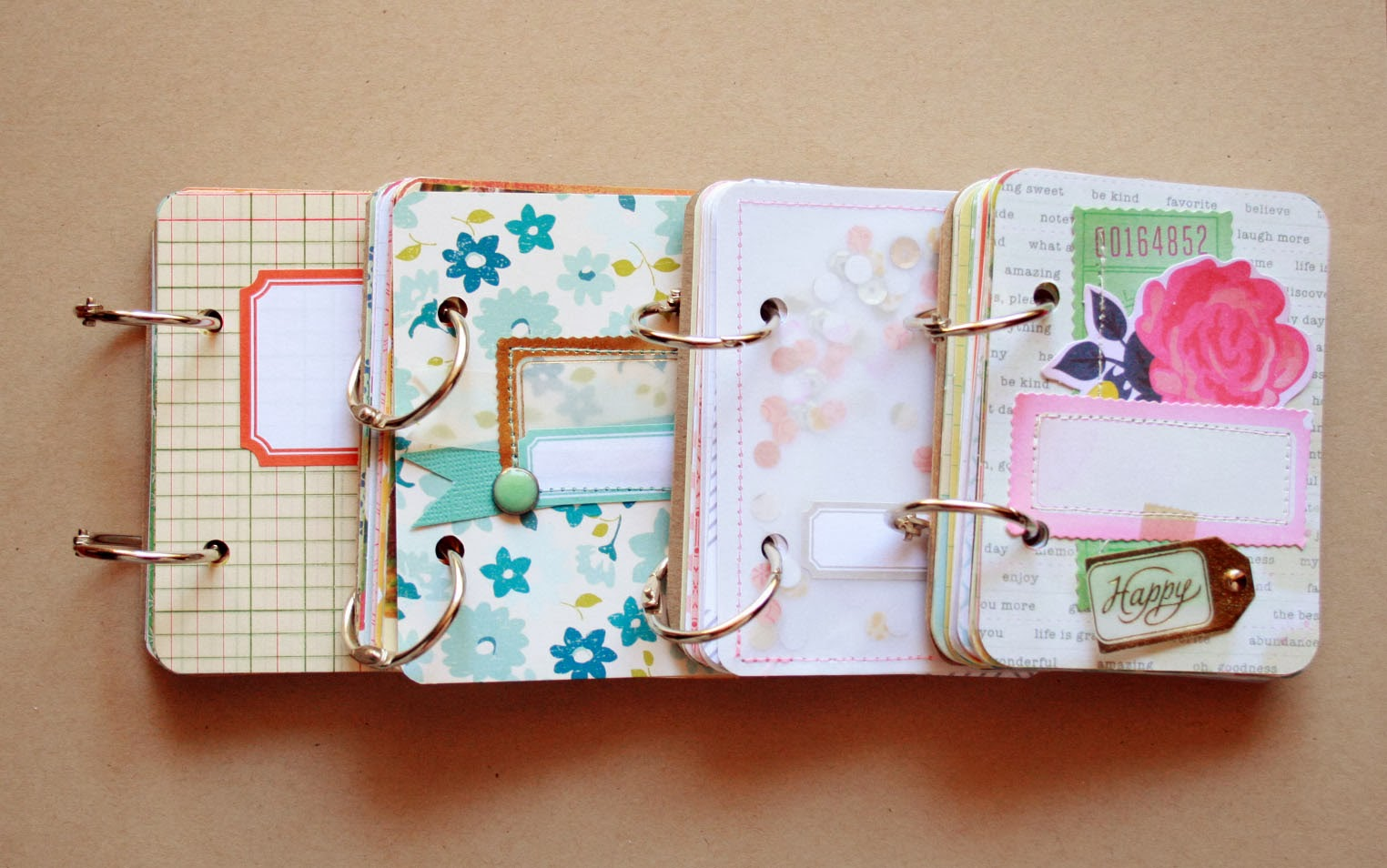 Diy Ribbon Book Cover : The creative place diy mini minibooks
