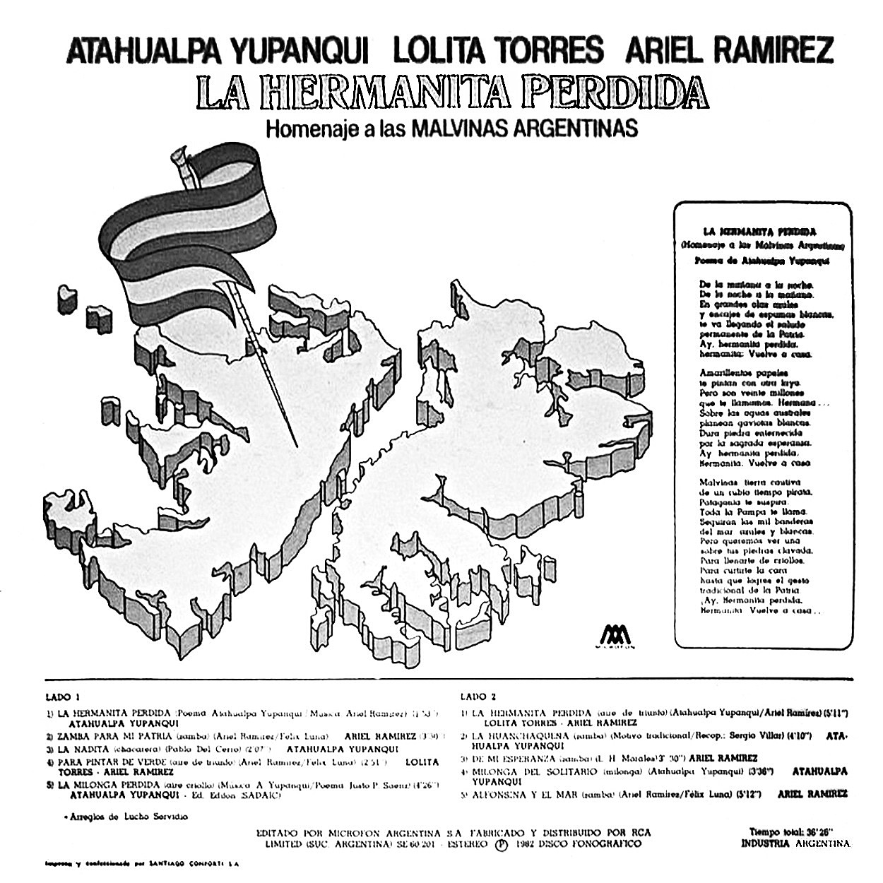 Folklore del NOA: ATAHUALPA YUPANQUI - LOLITA TORRES - ARIEL RAMÍREZ ...
