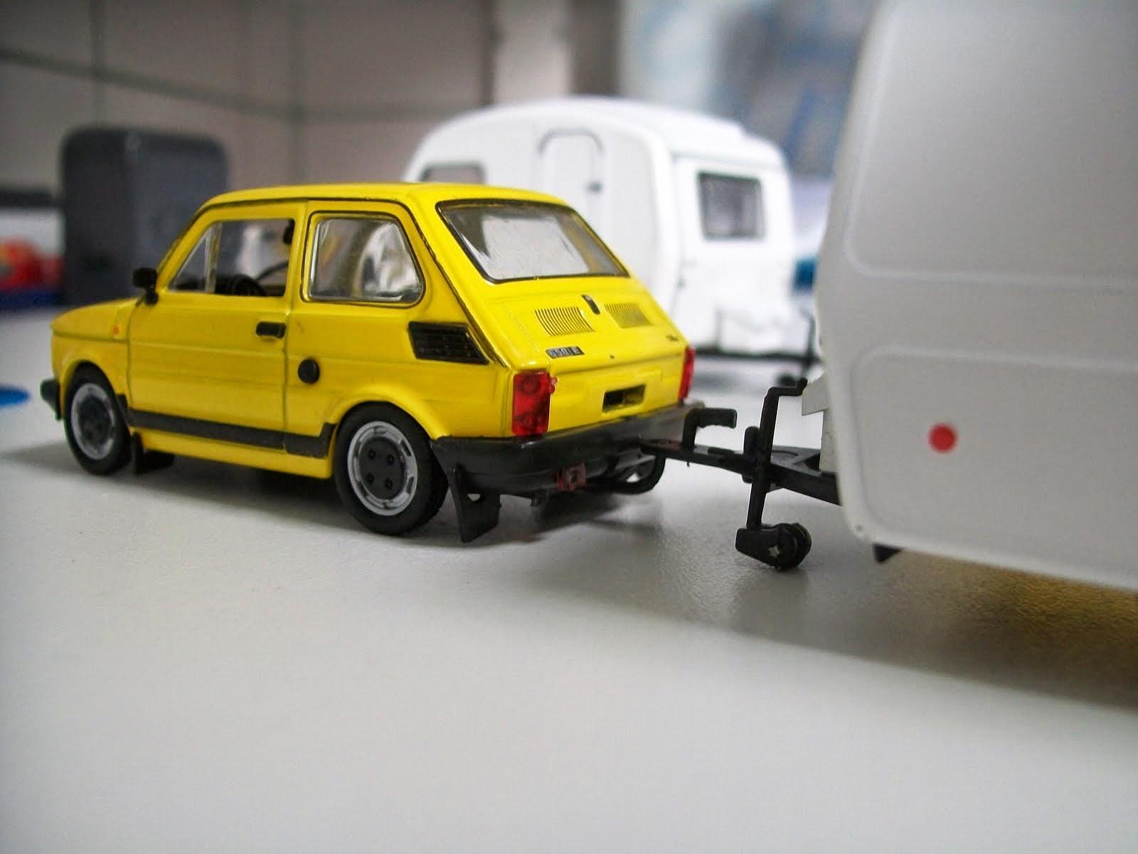 Fiat 126p FL i Niewadów N126- niezłe połączenie