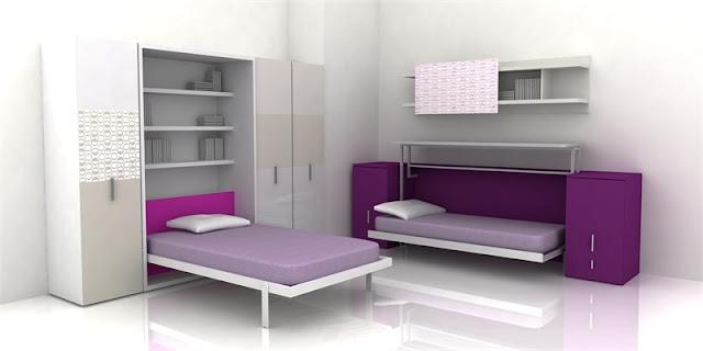 Chambre Fille Ado Violette De