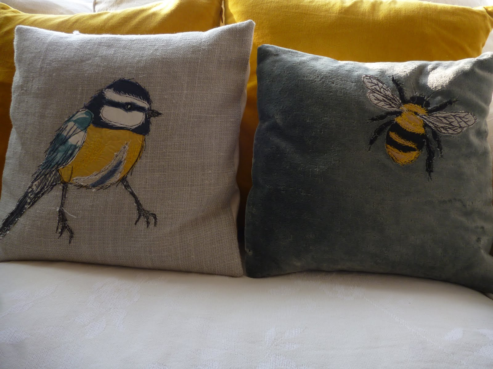 Cushions by Tanya Williamson