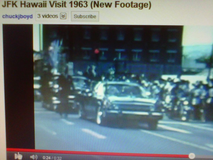 AGENTS BESIDE JFK, HAWAII, JUNE 1963
