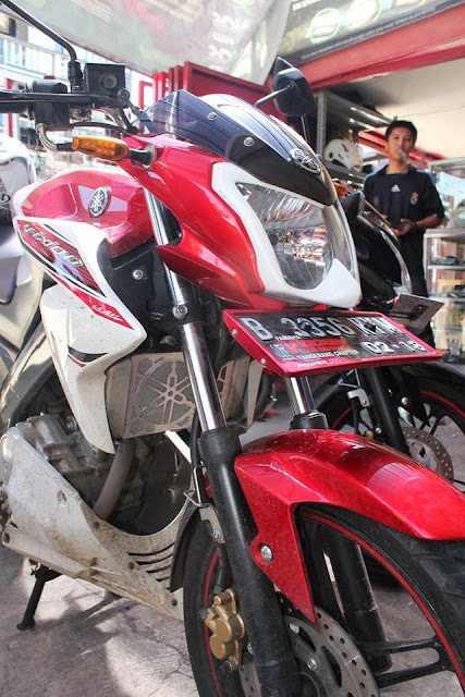 Cover Headlamp New Vixion Lightning