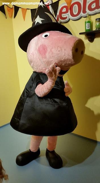 Festeggiare Halloween a Leolandia con Peppa Pig