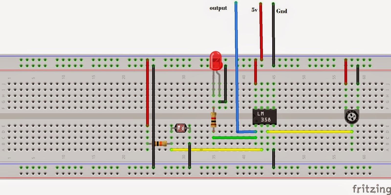 Light Following Robot Using L293D Motor IC (No programming) ~ Make ...