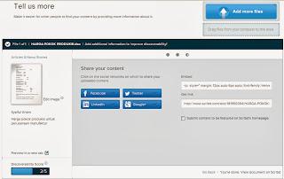 Cara Memasukkan File Microsoft Word, PDF atau PPT ke Postingan Blog