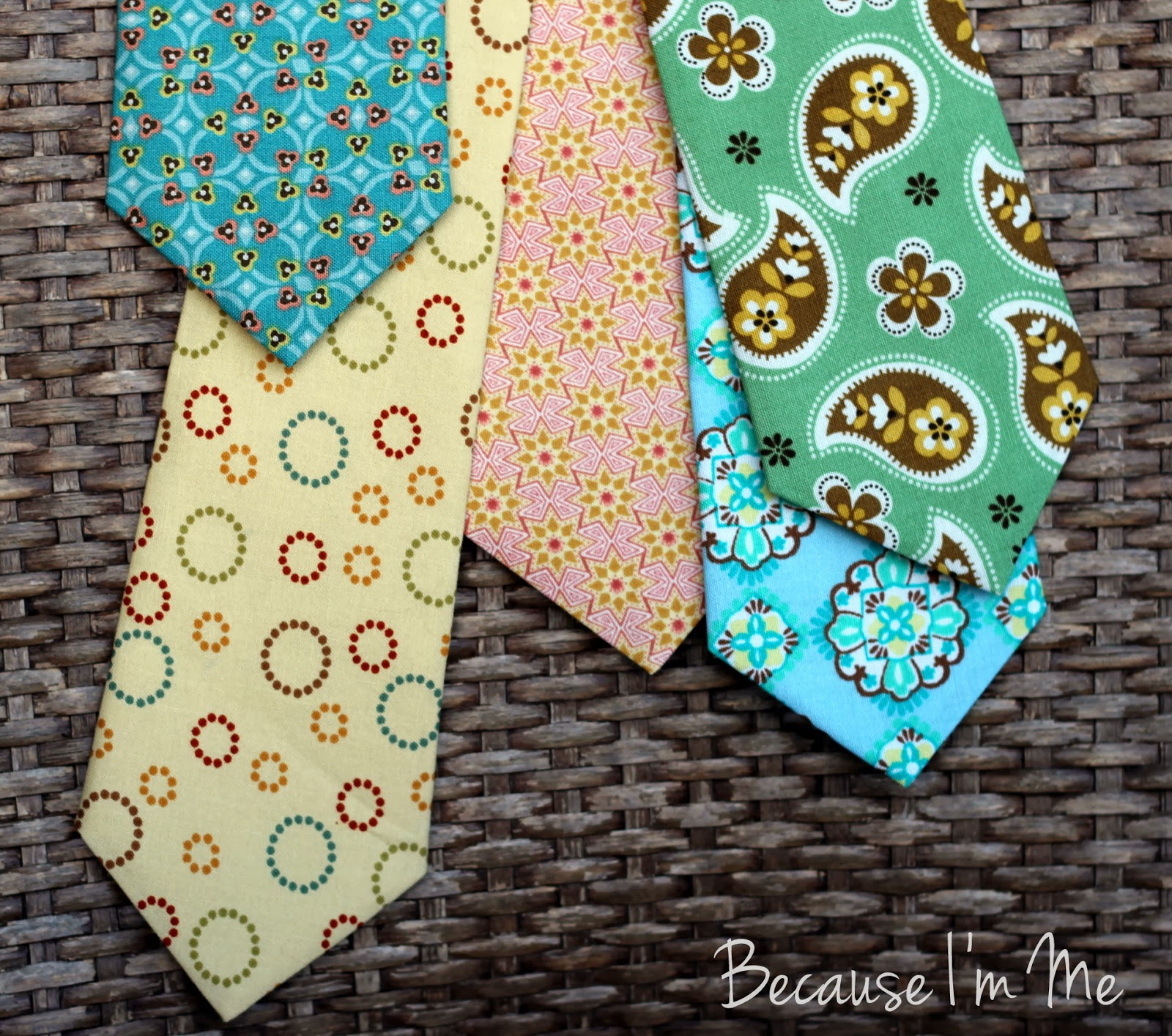 Because I'm Me mens, boys, and infants neckties