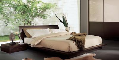 dormitorio estilo zen