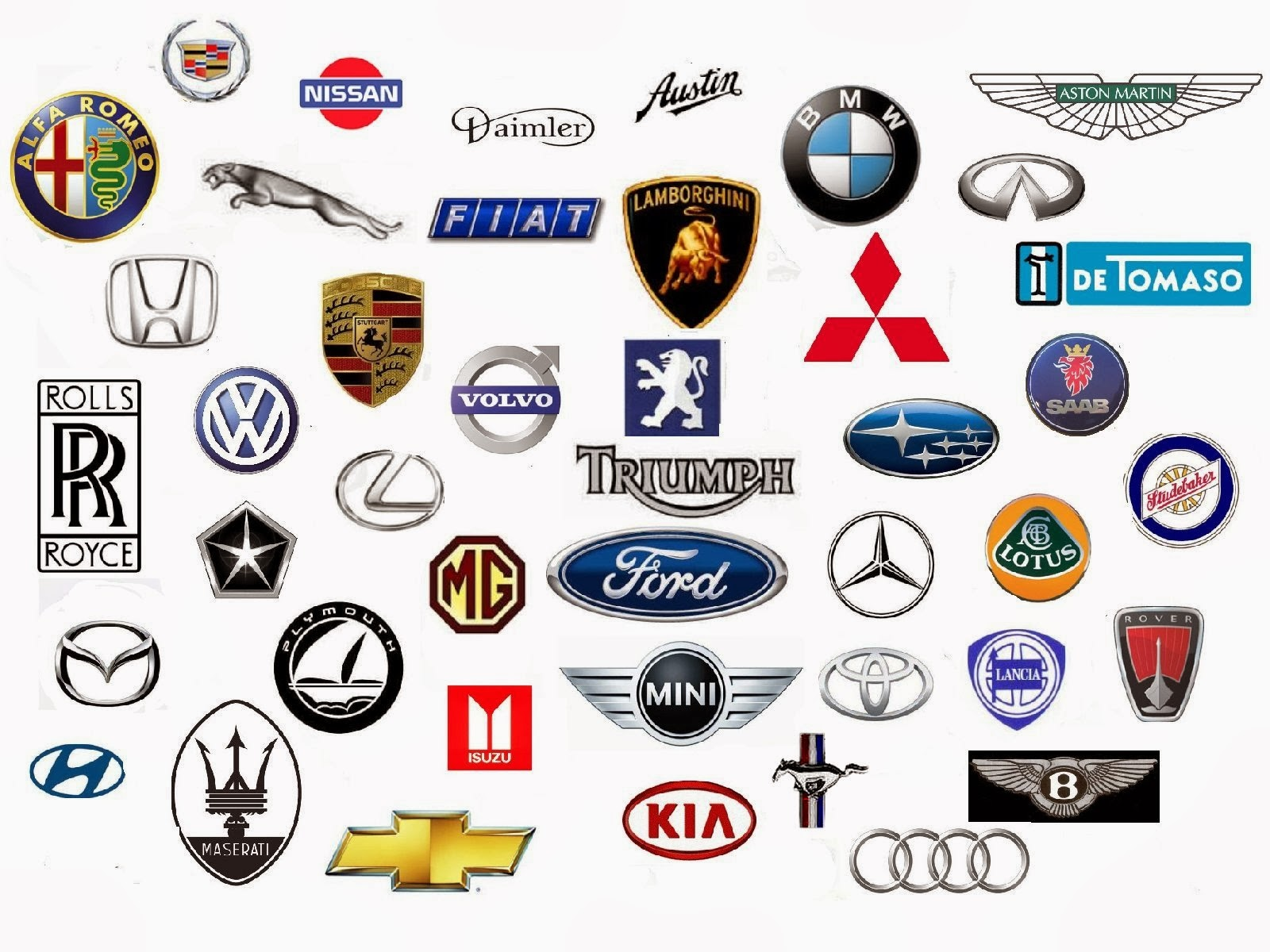 Car Logos And Brands | Cars Show Logos