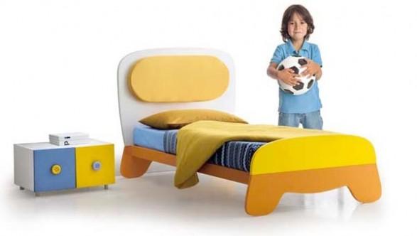 Dise o de dormitorio de bebe y ni os que crecen infantil for Dormitorio ninos diseno