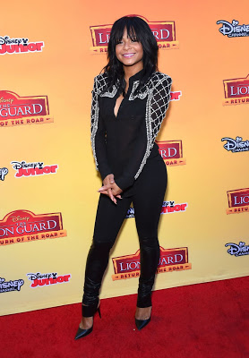 Christina Milian Goes to a Disney Event in a See-Through Top While Her Nipple Accidentally Pop Out(Picture)