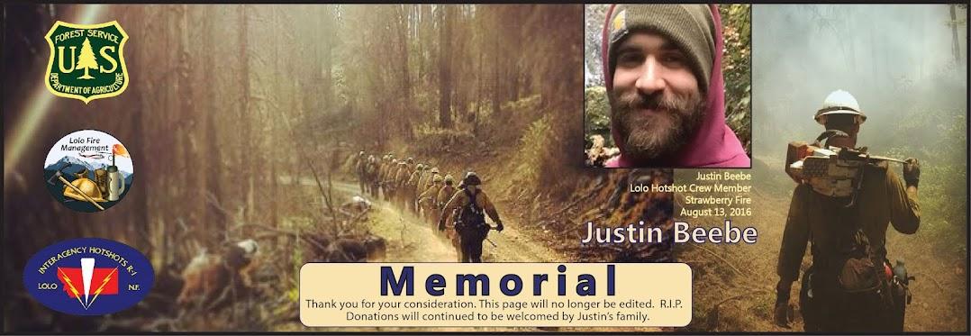 Justin Beebe Memorial
