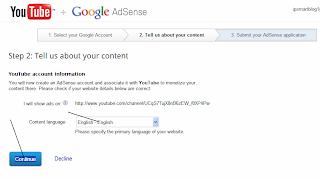 Content language Choose: English