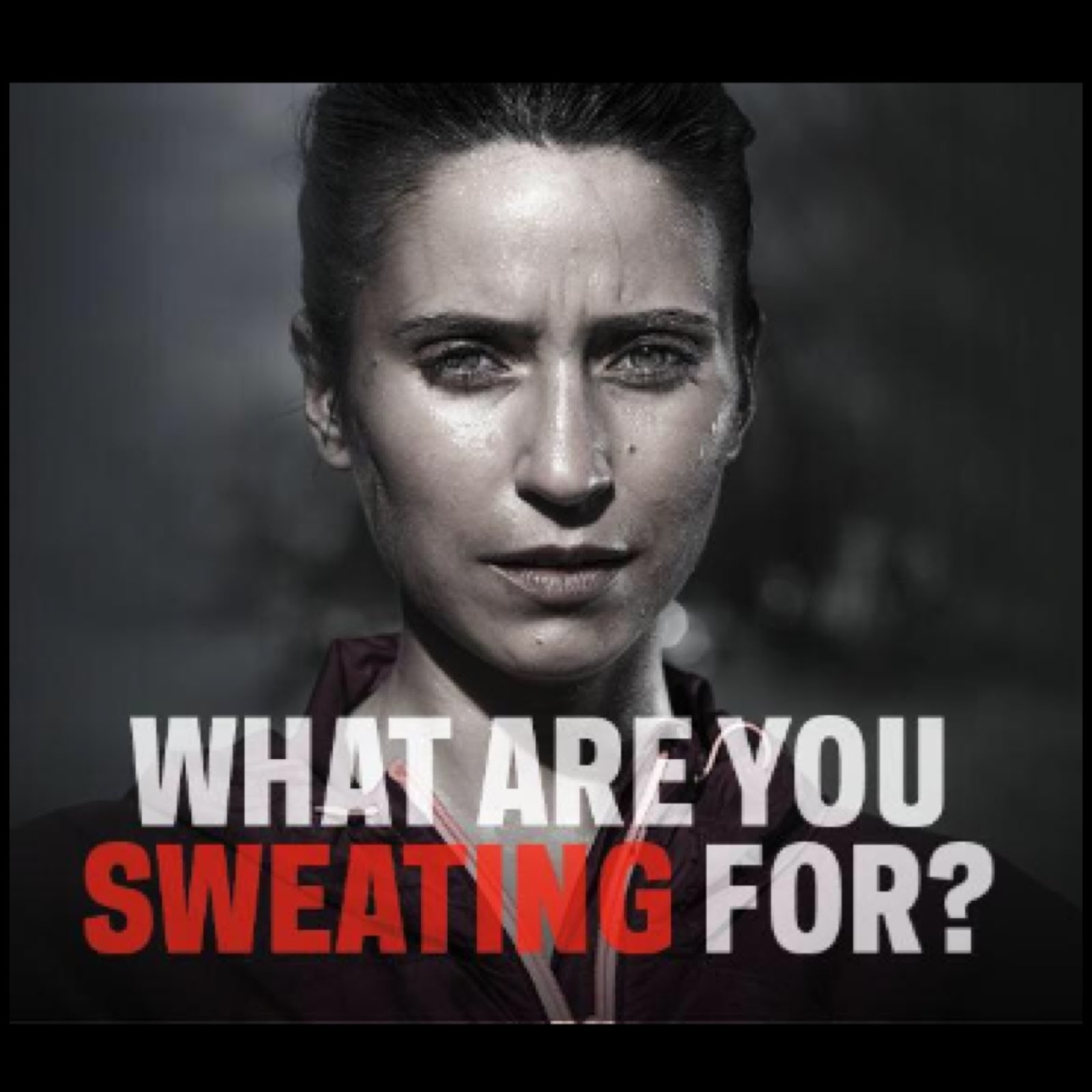 #SweatForThis