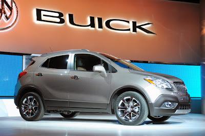 2013 Buick Encore Destaques do Salão do Automóvel de Detroit 2012