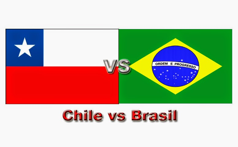 Chile vs Brasil Mundial 2014