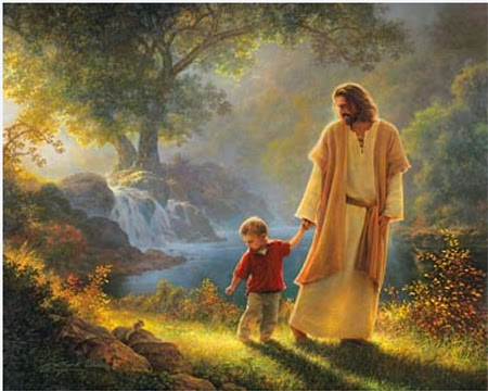 Vous habiterez la Jérusalem céleste et serez invités à la table du Seigneur... Jesusp10