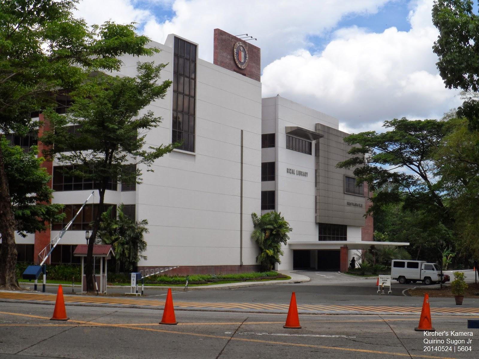 New Rizal Library of Ateneo de Manila University