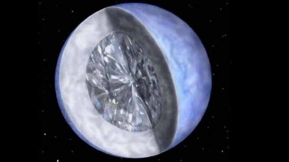 Diamond Planet Discovered