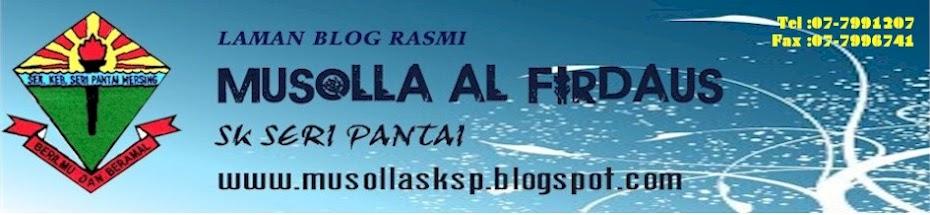 Musolla Al-firdaus SK Seri Pantai