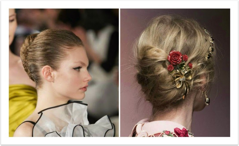 The Makeup Examiner: Wedding Hairstyles Straight From The Runway and ...