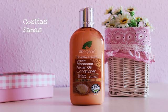 Acondicionador cabello Argan, cosmetica natural y ecologica