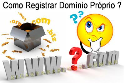 Como Registrar e Configurar Domínio Próprio no Blogger