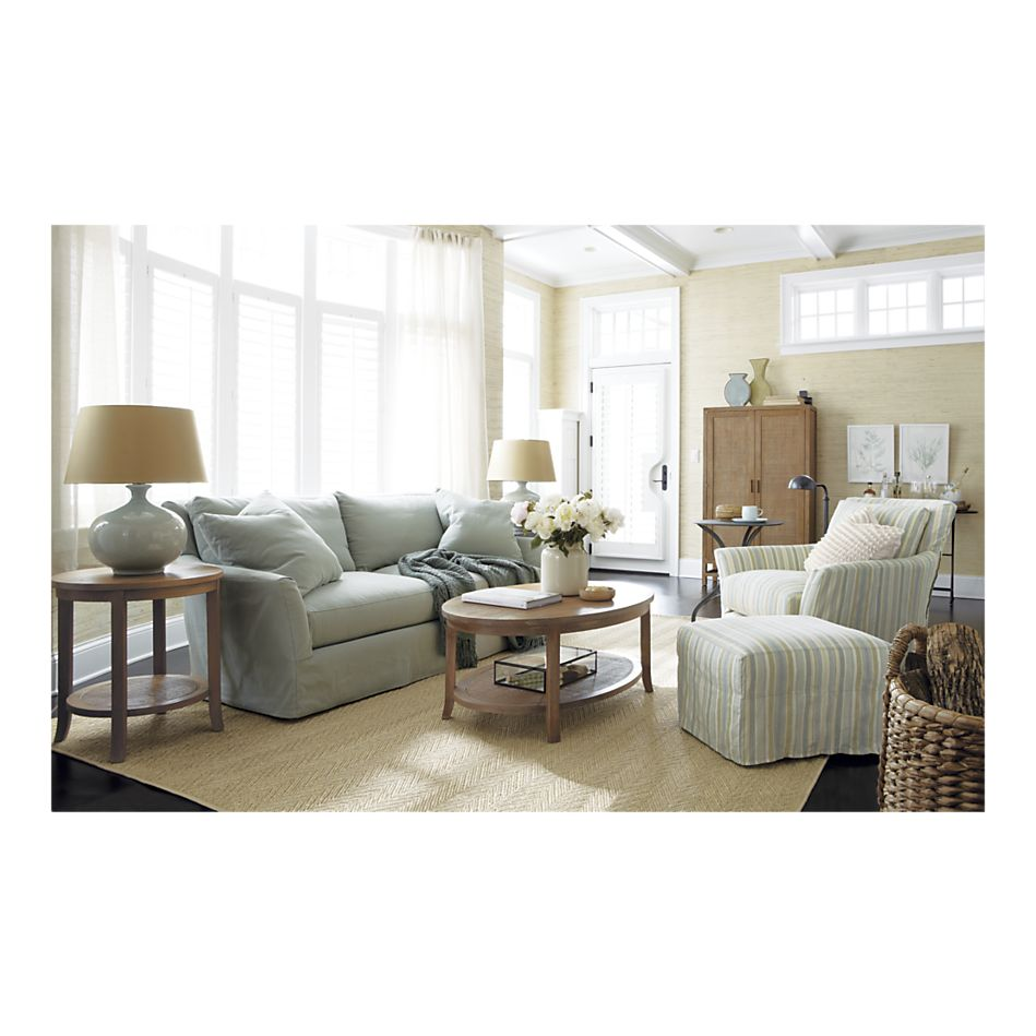 Forever Fun Ideas: Crate and Barrel Living Room