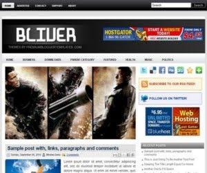 Bliver Blogger template