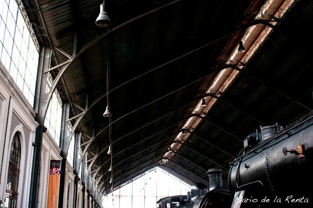 Mercado de Motores en el Museo del Ferrocarril