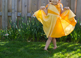 sunshine dress pattern