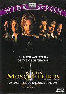 Filme Poster Os Três Mosqueteiros DVDRip XviD & RMVB Dublado