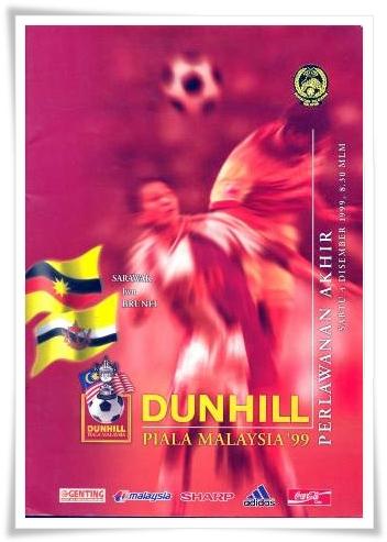 Piala Malaysia 1999: Brunei FA lawan Sarawak FA.