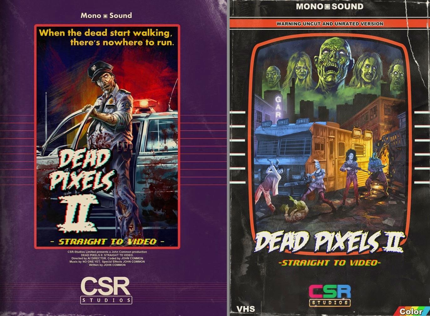 Dead Pixels 2 - vhs boxart (by Grimbro)