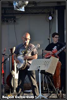 Gilles et Gwenolé banjo ténor et basse
