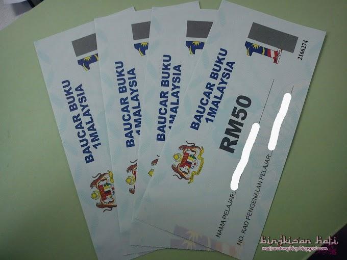 Tempoh sah Baucar Buku 1Malaysia Sehingga 30 April