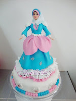 PUTERI MUSLIMAH (FONDANT
