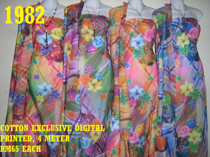 CDP 1982: COTTON EXCLUSIVE DIGITAL PRINTED, 4 METER