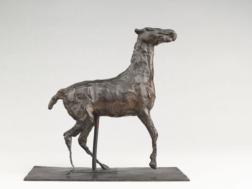 Cheval caracolant (1881-1890) by Edgar DEGAS (1834-1917)