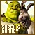 I like Shrek and Donkey