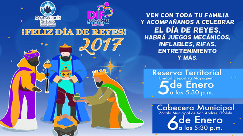 Ven a disfrutar del Día de Reyes