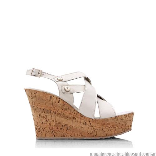 Sandalias verano 2016 Blaquè. Tendencias calzado femenino verano 2016 sandalias.