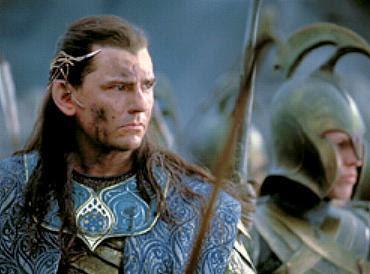 Et le casque elfique de Gil Galad ( Mark Ferguson ) que l'on peut y ...