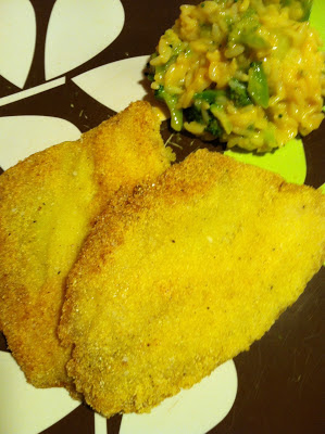 Corn Meal Crusted Tilapia