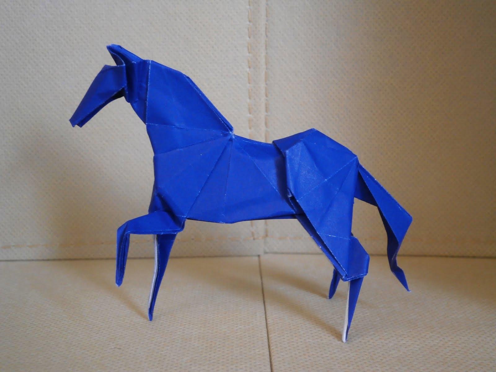 KATAKOTO ORIGAMI Horse from quot Works of Hideo KOMATSU quot