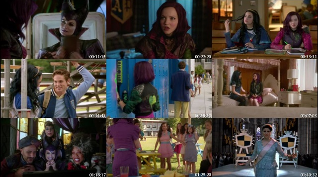 Descendants (2015) DVDRip Latino